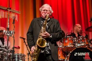 Klaus Doldinger, ein Meister am Saxophon. (Foto: th)