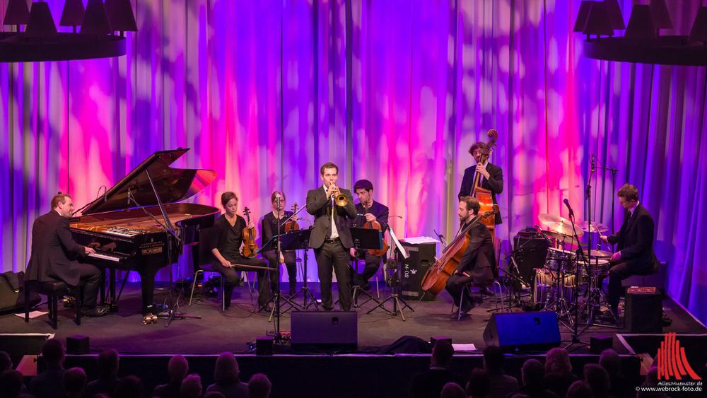 Einen perfekten Sound lieferten die Brüder Wasserfuhr am Samstag bei den Münster Music Days in der Cloud. (Foto: wf / Weber)