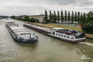 Auf einem insgesamt rund 38 Hektar großen Areal und nur wenige Fahrradminuten vom Stadtzentrum entfernt soll am Kanal neuer, auch öffentlich geförderter Wohnraum, entstehen. (Foto: Thomas Hölscher