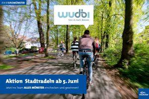 Samstag beginnt die Aktion STADTRADELN (Foto: Michael Bührke)