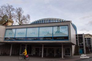 Auch das Theater Münster soll sich am Modellprojekt für vorsichtige Öffnungen beteiligen. (Foto: Thomas Hölscher)