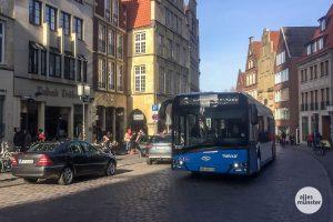 Die Busse der Stadtwerke fahren ab Mittwoch nach dem Ferienfahrplan. (Archivbild: Thomas Hölscher)