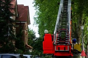 Die Einsatzkräfte der Feuerwehr rückten bis zum Abend zu 44 Einsätzen aus. (Archivbild: sg)