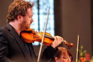 Konzertmeister Robin Peter Müller. (Foto: bk)