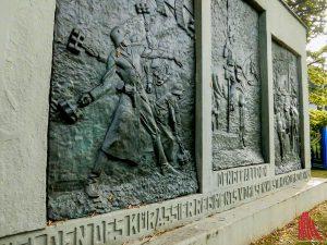 Das Kürassierdenkmal an der Aegidii-Schanze. (Foto: rc)