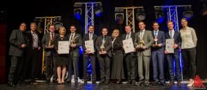 Die Gewinner der begehrten Auszeichnungen. (Foto: th)