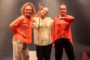 Vivien Musweiler, Tanja Kupra und Erika Knauer. (Foto: bk)