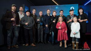 Ein großes Tatort-Team hatte sich im Cineplex eingefunden, von Regisseur Lars Jessen (li.) bis zur Produzentin Jutta Müller (re.). (Foto: wf / Weber)