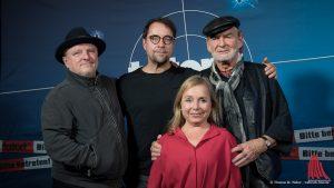 Die Hauptdarsteller des neuen Münster-Tatorts. (Foto: wf / Weber)