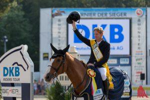 Marcus Ehning gewinnt den Großen Preis von Münster. (Foto: cf)