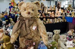 Die Teddybär Total Messe kommt zurück nach Münster. (Archivbild: Thomas Hölscher)