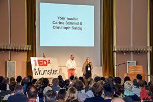 Die beiden Organisatoren der TEDxMünster. (Foto: so)