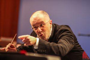 Fabrizio Ventura dirigiert zum letzten Mal das Neujahrskonzert. (Foto: bk)