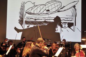 Kinderkonzert mit Max und Moritz im Theater: böse Überraschung für Onkel Fritz. (Foto: bk)