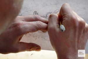 Urban Sketcher wollen die Welt so zeichnen, wie sie ist. (Foto: Marc Geschonke)