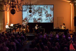 Robert Nippoldt und das Trio Größenwahn. (Foto: Claudia Feldmann)