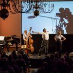 """Robert Nippoldt mit dem """"Trio Größenwahn"""". (Foto: Claudia Feldmann)"""