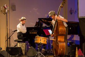 Christian Manchen und Christoph Kopp sind zwei Drittel des Trios Größenwahn. (Foto: cf)