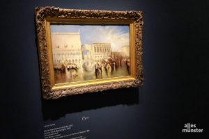 Joseph Mallord William Turner gilt als Wegbereiter der Moderne und als Meister des Lichts und der Farbe. (Foto: Ralf Clausen)