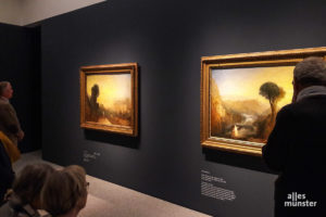 Das LWL-Museum für Kunst und Kultur freut sich über das Interesse an der Turner-Ausstellung und konnte am Dienstag die 100.000. besucherin begrüßen. (Foto: Ralf Clausen)
