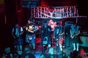 The Real McKenzies waren der Main Act des Punkrock-Festivals und brachten den Saal zum Kochen. (Foto: th)^The Real McKenzies waren der Main Act des Punkrock-Festivals und brachten den Saal zum Kochen. (Foto: th)