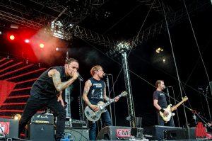 Die Donots auf dem Vainstream Rockfest 2015. (Foto: th)