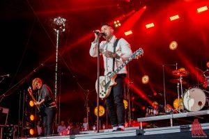 """Die Headliner """"Broilers"""" beim Vainstream Rockfest. (Foto: th)"""