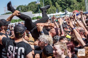 Szenen wie diese auf dem Vainstream Rockfest 2019 können wir uns in Zeiten von Corona nicht mehr vorstellen. (Archivbild: Thomas Hölscher)