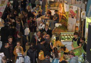 Nachhaltigkeit und pflanzlicher Lebensstil liegen im Trend: Viel Andrang auf der Vegginale im letzten Jahr (Foto: Daniel Sechert)