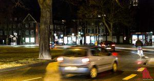 Sicher durch Münster: Vor allem Radfahrer werden oft zu spät wahrgenommen. (Foto: cabe)