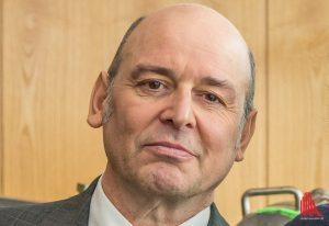 """In der Krimi-Reihe """"Wilsberg"""" spielt Vittorio Alfieri den Chef des Finanzamtes Münster. (Foto: cabe)"""