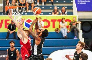 Am vergangenen Wochenende absolvierten die WWU Baskets Testspiele gegen Leverkusen und Köln. (Foto: WWU Baskets / Markus Holtrichter)