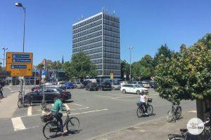 Hier am Servatiiplatz könnte das neue WDR-Landesstudio entstehen. (Foto: Thomas Hölscher)