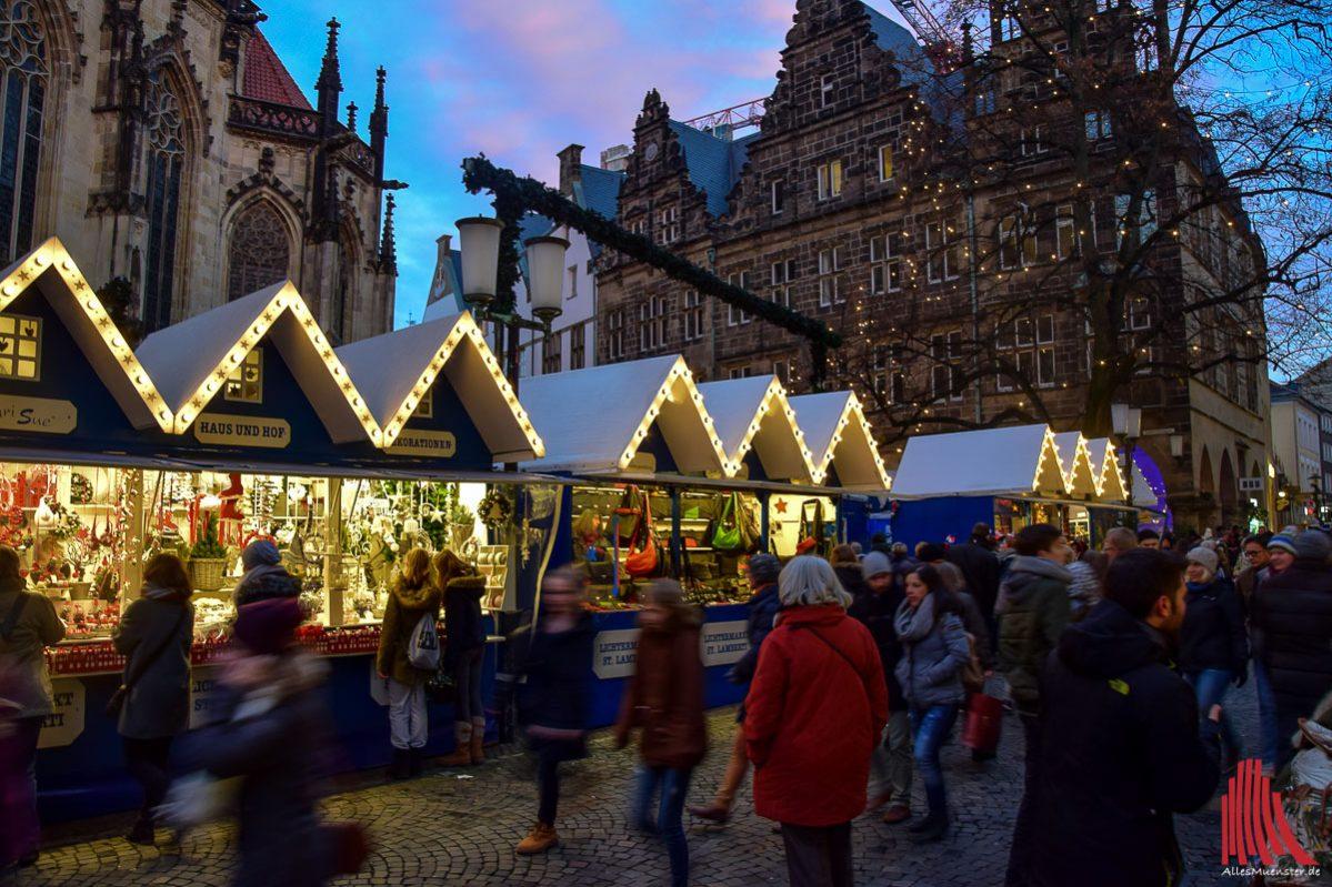 Schönster Weihnachtsmarkt Deutschlands.Münsters Weihnachtsmarkt Steht Zur Wahl Alles Münster