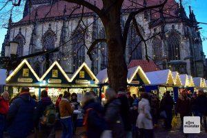 Bei die 25 000 Latüchten wird dat ja gar nicht mehr dunkel nachts in Münster. (Archivbild: Tanja Sollwedel)