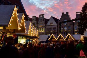 Die Weihnachtsmärkte in Münster laden zu einer Stimmungsvollen Adventszeit ein. (Foto: Tanja Sollwedel)