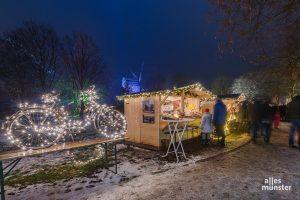 Im Mühlenhof läuft an den Adventswochenenden der Westfälische Weihnachtsmarkt. (Foto: Thomas M. Weber)