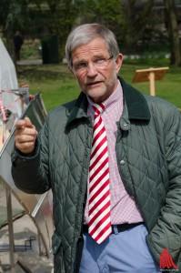 Betont die Wichtigkeit von Artenschutz und Umweltschutz: Zoodirektor Jörg Adler. (Foto: th)
