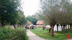 Der erste Wikingermarkt im Mühlenhof war ein schönes Erlebnis für die ganze Familie. (Foto: ka)