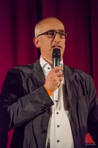 """ZDF Redakteur Martin R. Neumann, der von Anfang für """"Wilsberg"""" verantwortlich ist. (Foto: th)"""