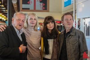 (v.l.:) Leonard Lansink, Alexandra von Schwerin, Ina Paule Klink und Roland Jankowsky (Foto: bk)