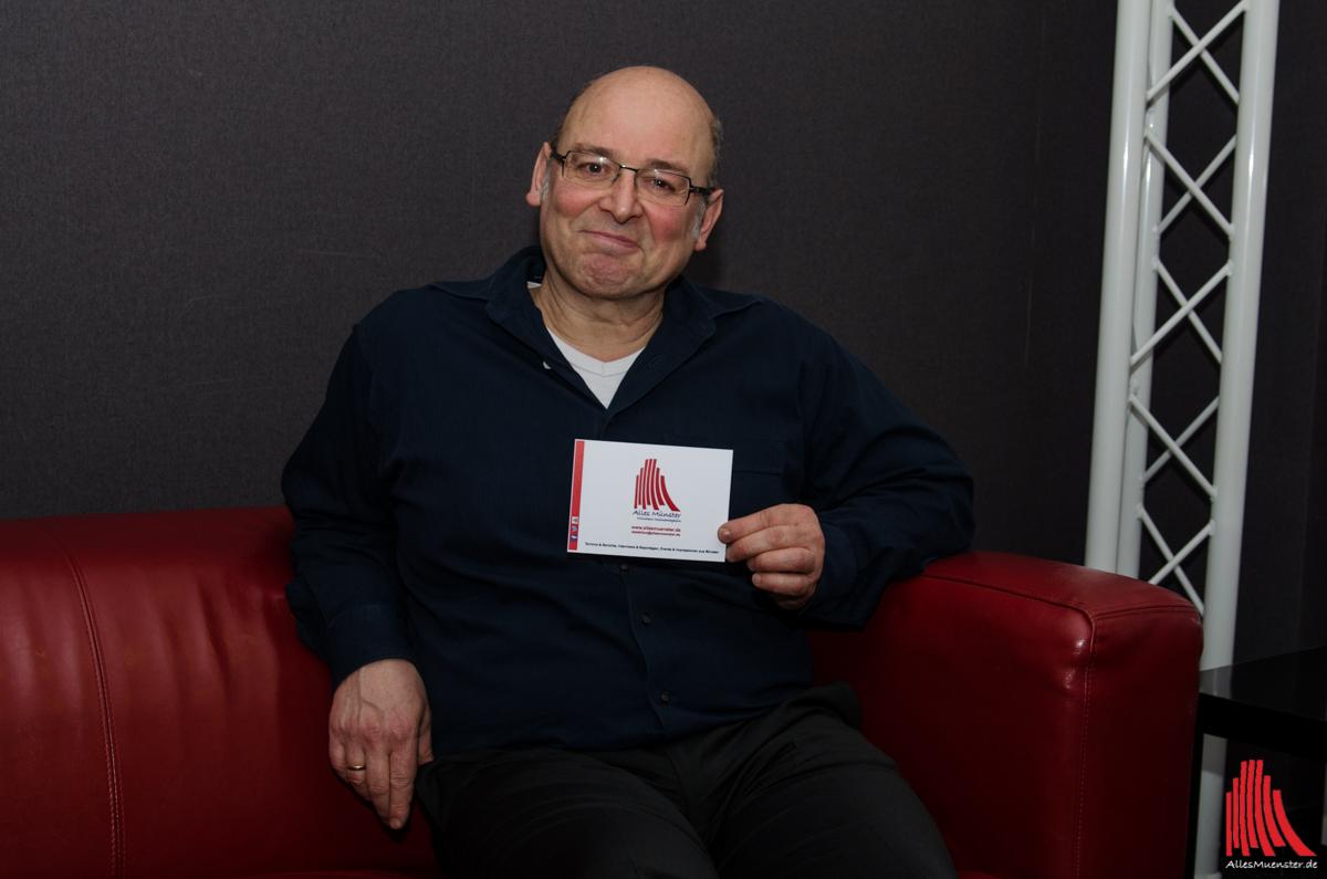 Vittorio Alfieri im ALLES MÜNSTER Interview. (Foto: th)