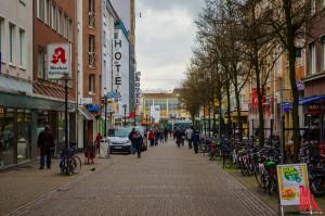 Die Windhorststraße verbindet die Innenstadt mit dem Hauptbahnhof. (Foto: th)