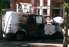 Banküberfall: Täter setzen Tatfahrzeug in Brand