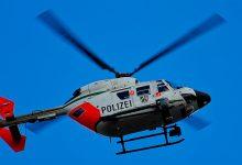 Polizeihubschrauber findet vermisste Person
