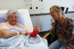 Besuchsdienst: Ein offenes Ohr für Patienten