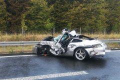 Tödlicher Verkehrsunfall auf der A 1