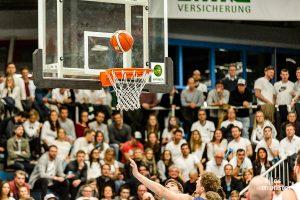 Die WWU Baskets deklassierten die Iserlohn Kangaroos mit 89:57. (Archivbild: Claudia Feldmann)
