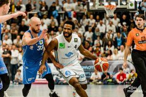Bei den WWU Baskets läuft es wortwörtlich rund. (Foto: Claudia Feldmann)