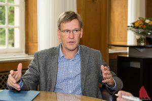 Professor Johannes Wessels im ALLES MÜNSTER Interview. (Foto: th)
